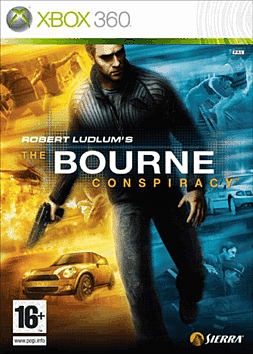 Robert Ludlums The Bourne Conspiracy Xbox 360 Cover Art