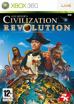 Sid Meier's Civilization Revolution Xbox 360 Cover Art