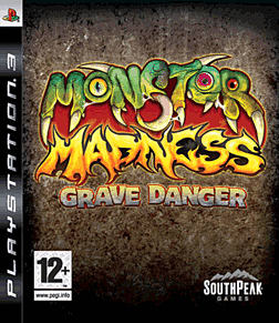 Monster Madness: Grave Danger PlayStation 3 Cover Art