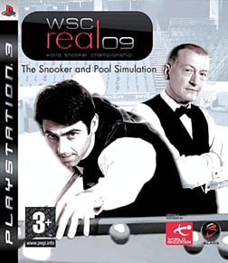 WSC Real 2009: World Snooker Championship PlayStation 3 Cover Art