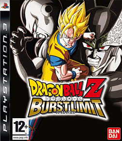 Dragon Ball Z: Burst Limit PlayStation 3 Cover Art