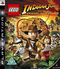 LEGO Indiana Jones - The Original Adventures PlayStation 3 Cover Art