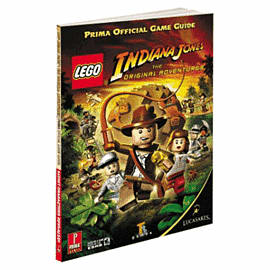 Lego Indiana Jones Strategy Guide Strategy Guides and Books