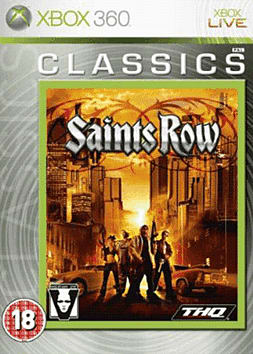 Saints Row Classic Xbox 360 Cover Art