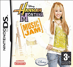 Hannah Montana: Music Jam DSi and DS Lite Cover Art