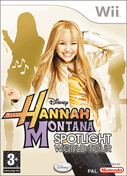 Hannah Montana: Spotlight World Tour Wii Cover Art