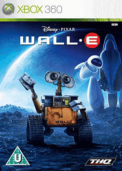 WALL-E Xbox 360 Cover Art