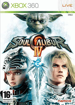 Soul Calibur IV Xbox 360 Cover Art