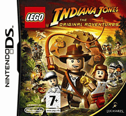 LEGO Indiana Jones - The Original Adventures DSi and DS Lite Cover Art