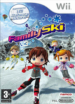 Family Ski (Wii Balance Board Compatible) Wii Cover Art