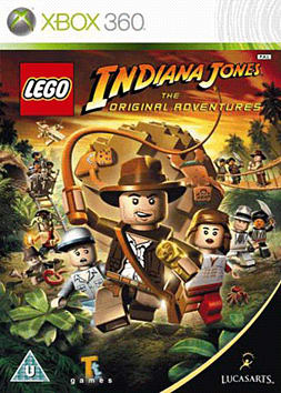 LEGO Indiana Jones: The Original Adventures Special Edition Xbox 360 Cover Art