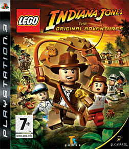 LEGO Indiana Jones PS3 Cover Art