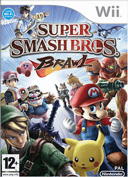 Super Smash Bros: Brawl Wii Cover Art