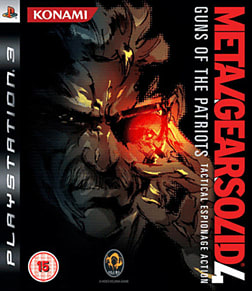Metal Gear Solid 4: Guns of the Patriots PlayStation 3 Cover Art
