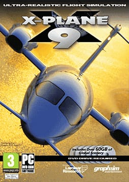 X Plane 9 PC Games Cover Art