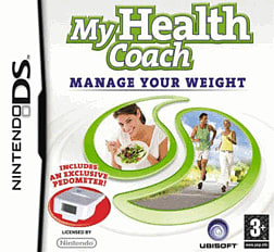 My Health Coach: Manage Your Weight DSi and DS Lite Cover Art