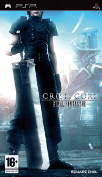Crisis Core: Final Fantasy VII PSP Cover Art
