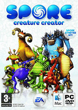 SPORE Creature Creator PC Games and Downloads Cover Art