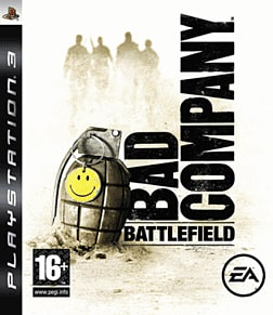 Battlefield: Bad Company PlayStation 3 Cover Art