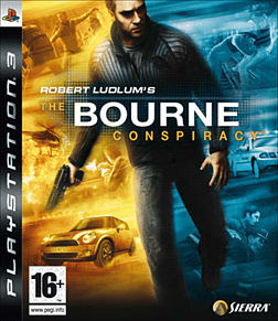 Robert Ludlum's The Bourne Conspiracy PlayStation 3 Cover Art