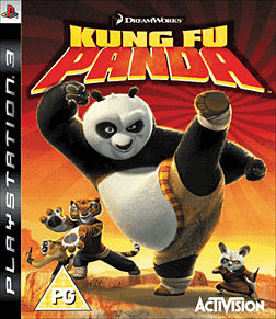 Kung Fu Panda PlayStation 3 Cover Art