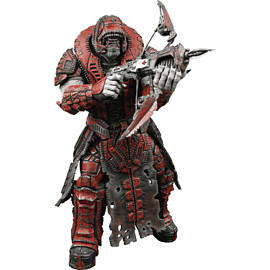 Gears of War Series 2 Theron Guard Figure (Helmet) Toys and Gadgets