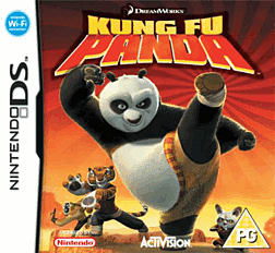 Kung Fu Panda DSi and DS Lite Cover Art