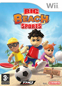 Big Beach Sports Wii Cover Art