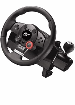 Logitech GT5 Driving Force Wheel PS3 Accessories