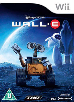 WALL-E Wii Cover Art