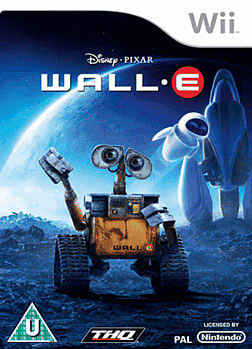 WALL-E GAME Exclusive Slipcase Edition Wii Cover Art