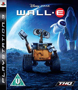 WALL-E PlayStation 3 Cover Art