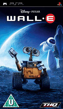 WALL-E PSP Cover Art