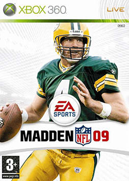 Madden NFL 09 Xbox 360 Cover Art