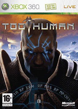 Too Human Xbox 360 Cover Art