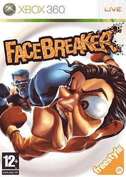 Facebreaker Xbox 360 Cover Art