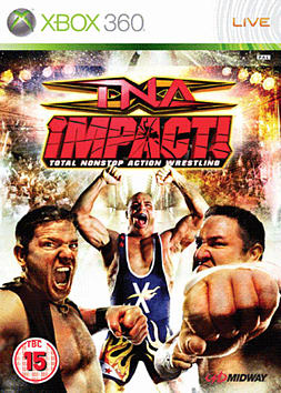 TNA Impact! Xbox 360 Cover Art