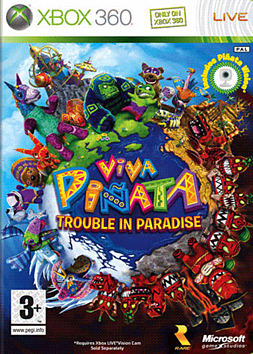Viva Pinata: Trouble in Paradise Xbox 360 Cover Art
