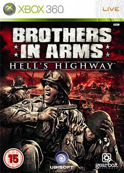 Brothers in Arms: Hell's Highway Xbox 360 Cover Art