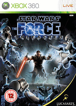 Star Wars: The Force Unleashed Xbox 360 Cover Art