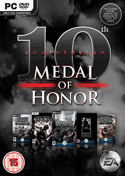 Medal of Honour GAME Exclusive 10th Anniversary Edition PC Games and Downloads Cover Art