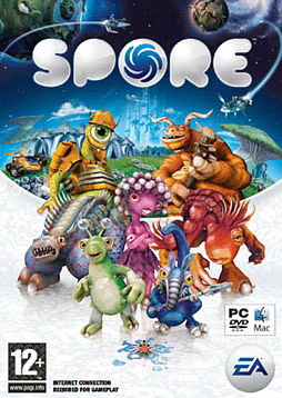 SPORE PC Games and Downloads Cover Art