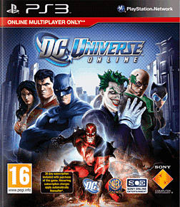 DC Universe Online PlayStation 3 Cover Art