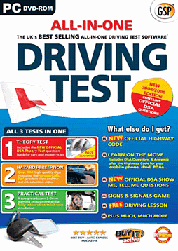 All in One Driving Test 09-10 PC Games and Downloads Cover Art