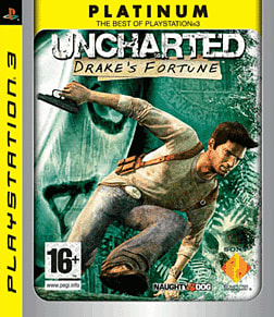 Uncharted: Drake's Fortune Platinum PlayStation 3 Cover Art