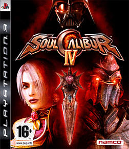 SoulCalibur IV PlayStation 3 Cover Art