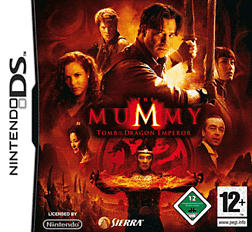 The Mummy III: Tomb of the Dragon Emperor DSi and DS Lite