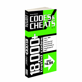 Codes & Cheats Vol. 17 Strategy Guides and Books