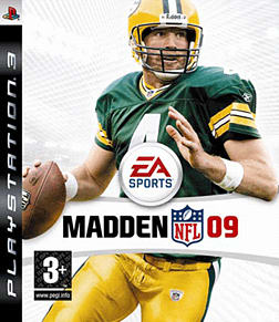 Madden NFL 09 PlayStation 3 Cover Art