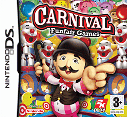 Carnival Funfair Games DSi and DS Lite Cover Art